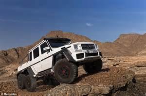 mercedes 6 wheel pickup lewis hamilton poses in lunatic 163 370 000 mercedes 6x6