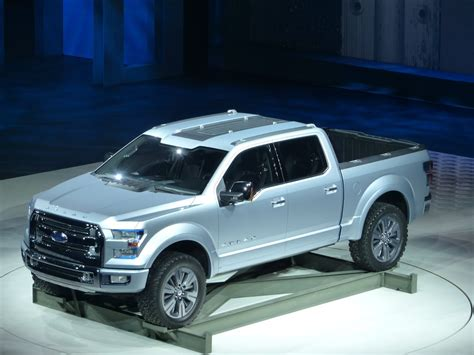 watch the next ford f150 atlas pickup concept debut at the detroit auto show youtube