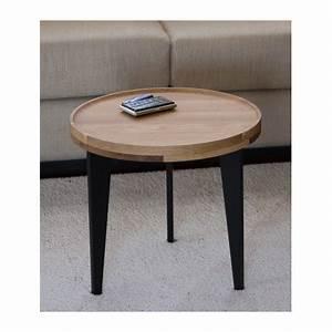 Table Basse D Appoint : petite table basse d 39 appoint en ch ne massif l40cm h38cm ~ Teatrodelosmanantiales.com Idées de Décoration