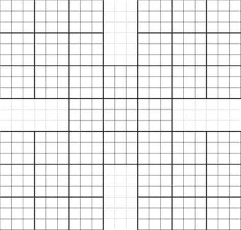 sudoku    samurai puzzles math grids pinterest