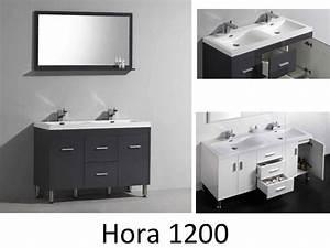 Meuble Vasque Sur Pied : meubles lave mains robinetteries meuble teck meuble de salle de bain sur pieds avec double ~ Teatrodelosmanantiales.com Idées de Décoration