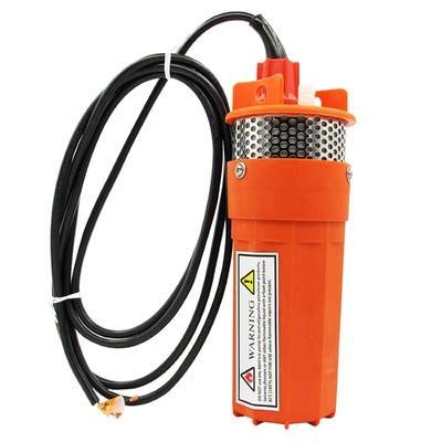 dc submersible   water pump  menu click