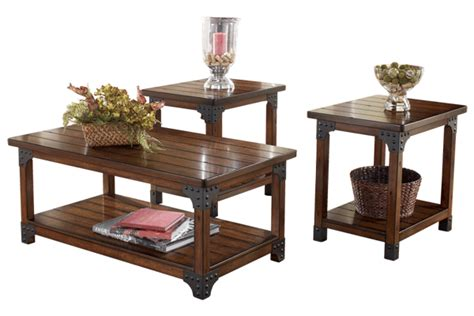 Coffee and 2 End Table Set