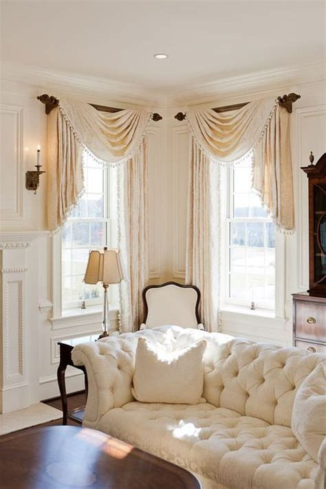 swag curtain ideas for living room interesting idea for swags enza