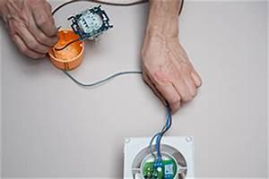 Aérateur Extracteur Avec Détecteur D Humidité : electricit raccorder un extracteur de salle de bains ~ Dailycaller-alerts.com Idées de Décoration