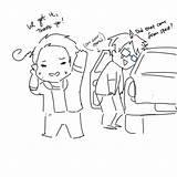 Hetalia Tumblr Aph Missed Coloring Because Korea America Rikki sketch template