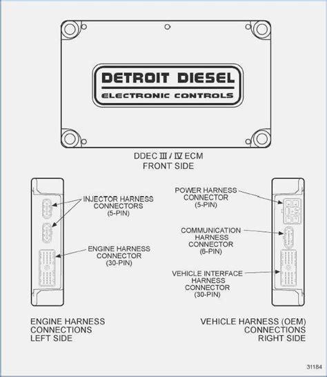 Detroit Series Ecm Wiring Diagram Dolgular Ddec