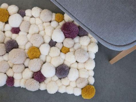 faire un tapis en faire un tapis en pompons