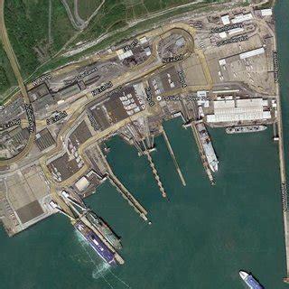 Port of Dover, (Google Maps, 2014) | Download Scientific ...
