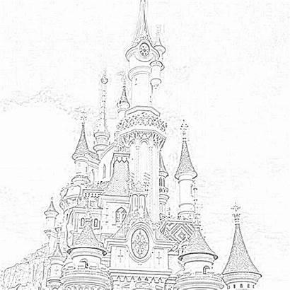 Disney Coloring Pages Walt Filminspector Kingdom Magic