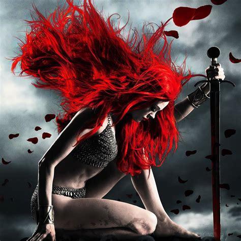 Cgfantasy Flame Red Hair Color Ipad Iphone Hd