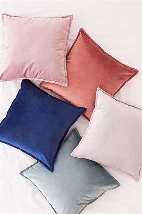 velvet throw pillow urban outfitters