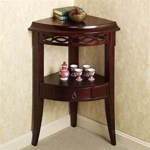 small corner accent table with drawer of aruza corner With small corner table for bathroom