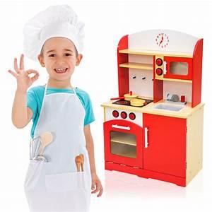 Cuisine Enfant En Bois : cuisine en bois pour des enfants jeu du r le d 39 imitation chef set kit ebay ~ Teatrodelosmanantiales.com Idées de Décoration