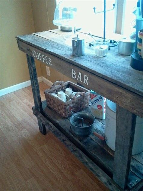coffee bar   pallets decor life diy coffee
