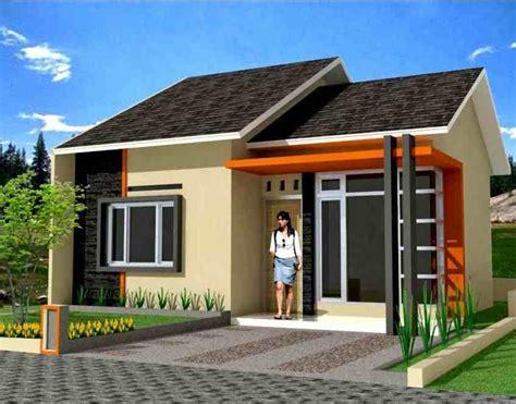 rumah minimalis type 45 1 lantai terbaru eksterior rumah