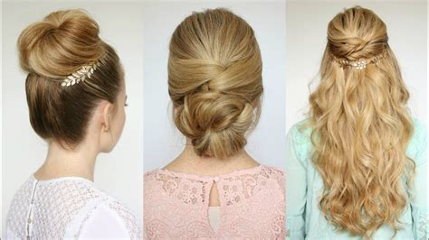 easy prom hairstyles missy sue youtube