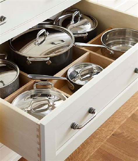 kitchen storage cabinets for pots and pans pots and pans kitchen cabinetry organization pots