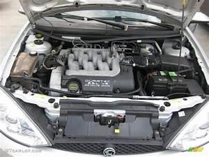 2001 Mercury Cougar V6 2 5 Liter Dohc 24