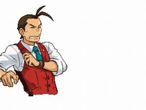 Image - Apollo Shocked.gif - Ace Attorney Wiki - Wikia