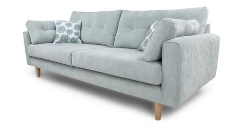 Dfs Fabric Sofa by Dfs Poet Sky Fabric 4 Seater Sofa 57551 Ebay