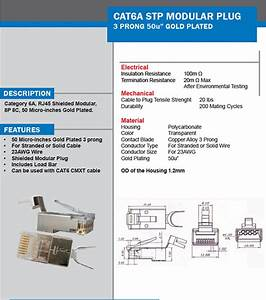 Cat6a Wire Diagram  All About Cat 6a Cat 6a Shielded Cable Cat 6a Utp Cable  How To Terminate