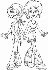 Fashion Girl Coloring Pages