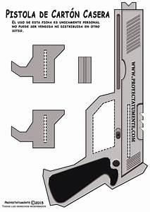 Como Hacer una Pistola de Cartón Muy Fácil de Hacer en Casa Proyectatumente