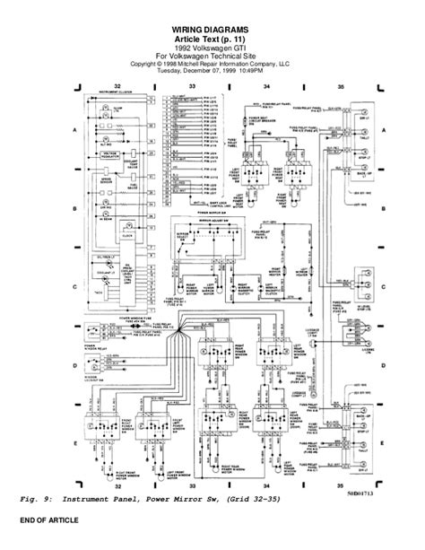 1996 Vw Gti Engine Diagram by Golf 92 Wiring Diagrams Eng