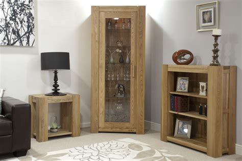 Bookcase With Glass Shelves by Pemberton Solid Oak Office Furniture Bookcase With