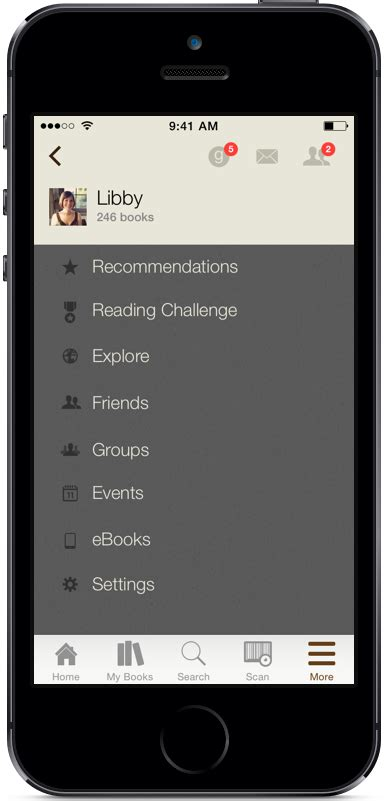 meet  updated ios app goodreads news interviews