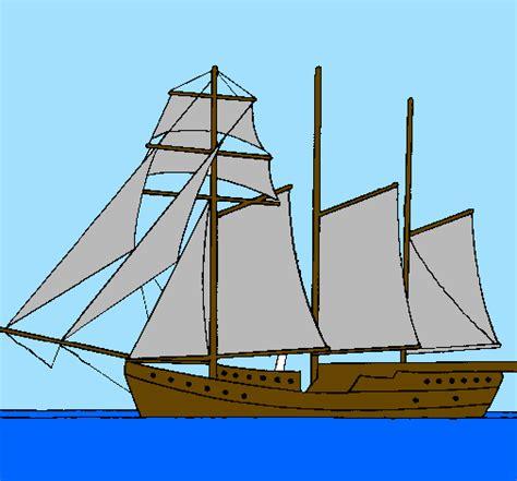 Dessin Bateau Trois Mats Facile dessin voilier 224 trois m 226 ts colori 233 par micropuce