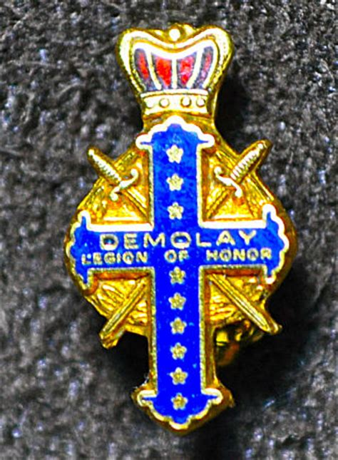 demolay lapel pin collection