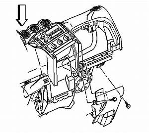 Service Manual  2004 Pontiac Grand Am Blower Motor Removal