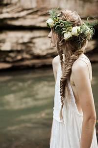 DIY: Boho Double Fishtail Braid | Green Wedding Shoes ...