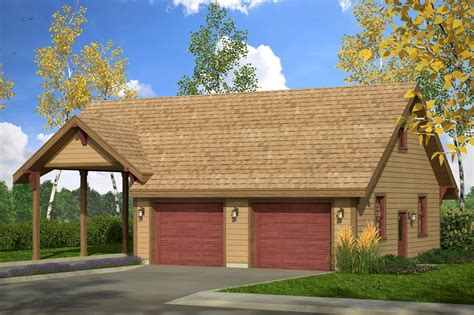country house plans garage wcarport