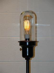 Matched Pair Industrial Floor Lamps Westinghouse Lamp Set
