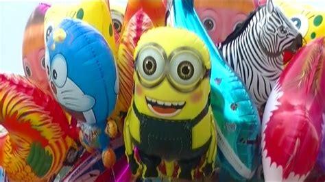 not lagu doraemon balonku ada lima balloons minion doraemon nemo shark spongebob ipin upin balon karakter