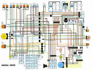 Proa  Honda Cb550 Electrical Schematic Diagram