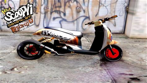 Scoopyi Modified by Gta San Andreas Honda Scoopyi Modified Mod Gtainside