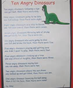Poems About Preschool Dinosaurs