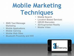 Mobile Marketing Education PowerPoint