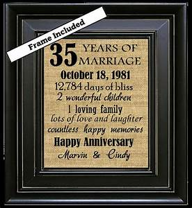 35th wedding anniversary 35th anniversary gifts by With 35th wedding anniversary gift ideas
