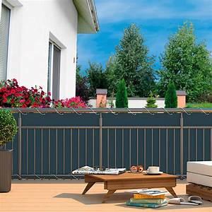 Balkon Sichtschutz Anthrazit Von Grtner Ptschke