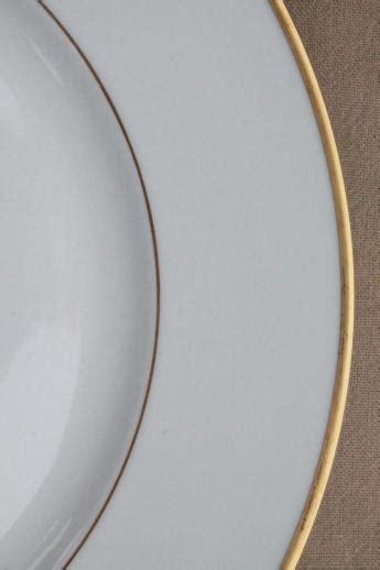 heinrich hco mark porcelain dinner plates deco vintage
