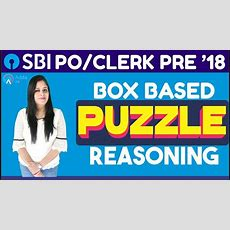 Sbi Po Pre,clerk Pre  Box Based Puzzle By Akanksha Mam  Reasoning Youtube