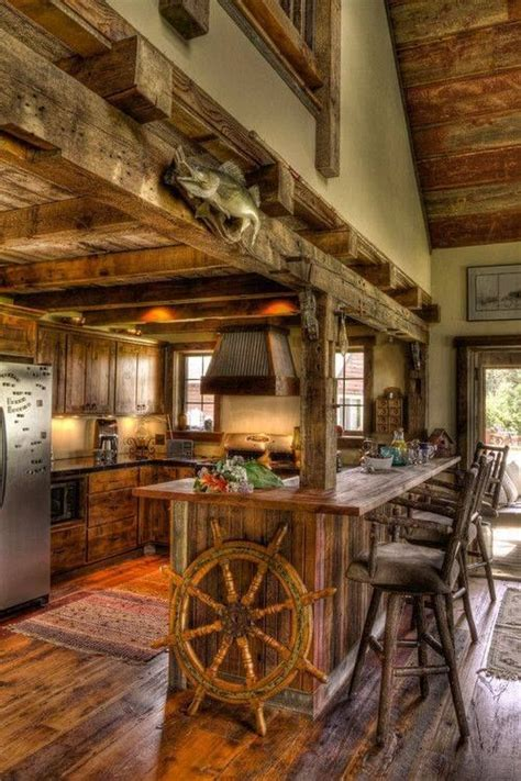 17 best ideas about rustic cabin kitchens on lake cabin interiors cabin kitchens