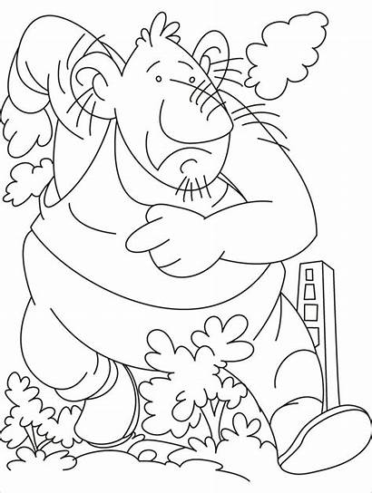 Giant Coloring Pages Giants Trolls Printable Crayola