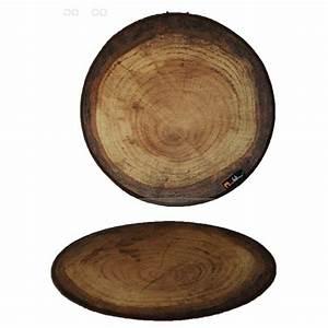 Rond En Bois : set de table rond th me bois de for t merowings ~ Teatrodelosmanantiales.com Idées de Décoration