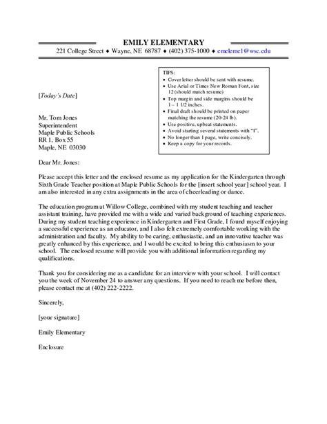 write application letter  teacher job paper